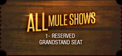 Mule Days Ticket Mule Show Bishop CA