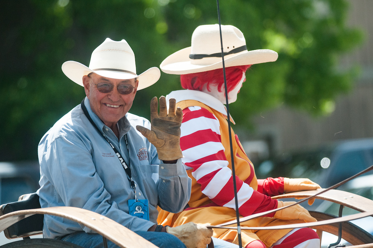 Cowboy in Parade Muie Days