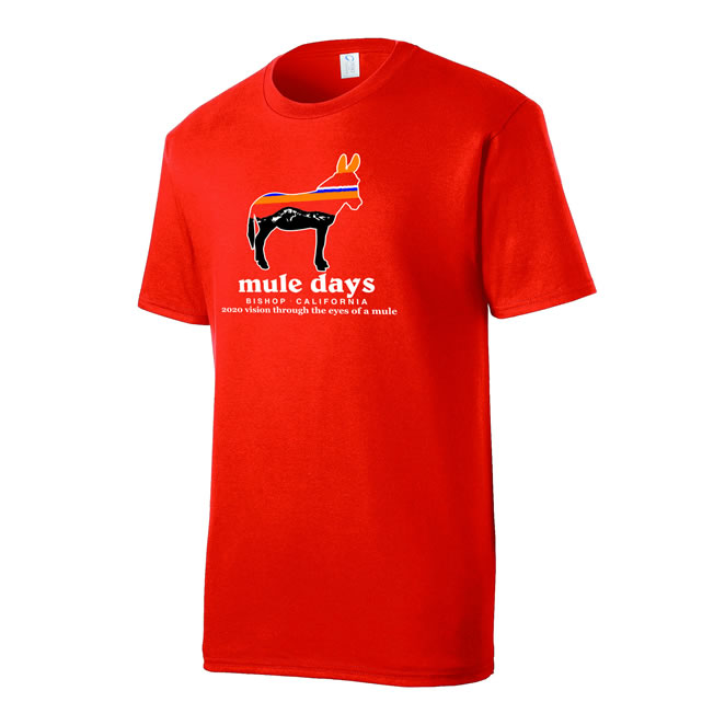 Mule Days Mens Tee - Orange